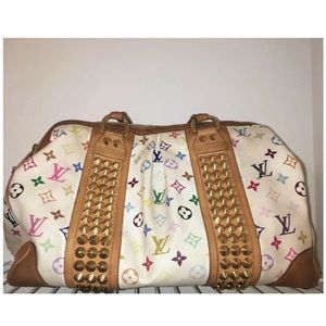 LOUIS VUITTON Courtney GM Multicolor Monogram